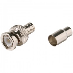 Steren Electronics - 200131 - Steren RG59 BNC Crimp 2pc Connector - BNC