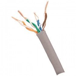 Steren Electronics - 300-789GY - Steren Cat.6 UTP Network Cable - Category 6 for Network Device - 1000 ft - Bare Wire - Bare Wire - Gray