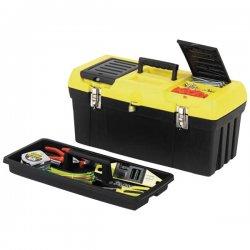 Stanley / Black & Decker - 019151M - Plastic Portable Tool Box, 9-3/4H x 19W x 9-3/4D, 1085 cu. n., Black