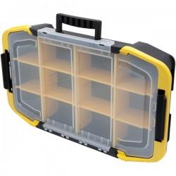 Stanley / Black & Decker - STST14440 - Tool Organizer, Black/Clear/Yellow Plastic