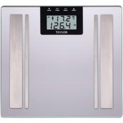 Taylor Precision - 57364102F - Taylor(R) Precision Products 57364102F Body Fat Digital Scale (Silver)