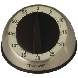 Taylor Precision - 5830 - Taylor Analog Timer - 1 Hour - For Kitchen