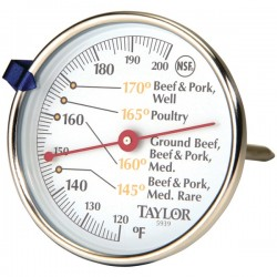 Taylor Precision - 5939N - Taylor(R) Precision Products 5939N Meat Dial Thermometer