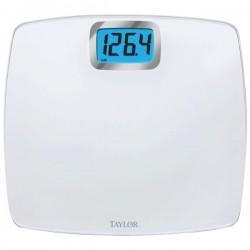Taylor Precision - 75284012 - TAYLOR 75284012 Oversized Digital Glass Bath Scale (White)