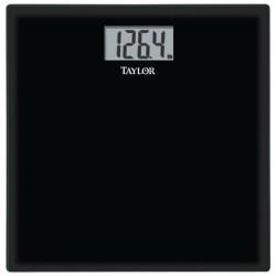 Taylor Precision - 75284072 - TAYLOR 75284072 Oversized Digital Glass Bath Scale (Black)