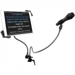 CTA Digital - PAD-MTG - CTA Digital Clamp Mount for Microphone, Tablet PC, iPad mini, iPad Air, iPad Pro - 13 Screen Support