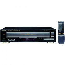 Tascam / TEAC - PD-D2610 - Teac PD-D2610 CD Player/Changer - CD-ROM, CD-R, CD-RW - MP3 Playback - 5 Disc(s) - 32 Programmable Track(s)