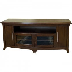 TechCraft - EOS6428 - Techcraft Hi-Boy EOS6428 Curved Front Credenza - Walnut