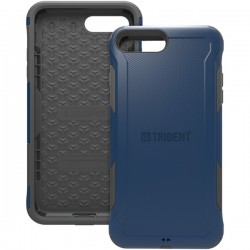 Trident Case - AG-APIP7P-BL000 - Trident Aegis Case For Apple iPhone 7 Plus - iPhone 7 Plus - Navy - Thermoplastic Elastomer (TPE), Polycarbonate - 72 Drop Height