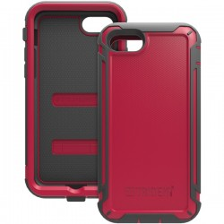 Trident Case - CY-APIPH7-RD000 - Trident Cyclops Case For Apple iPhone 7 - iPhone 7 - Crimson - Thermoplastic Elastomer (TPE), Polycarbonate, Silicone - 96 Drop Height
