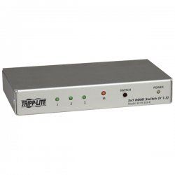 Tripp Lite - B119-303-R - Tripp Lite B119-303-R 3-Port HDMI Switch - 3 x HDMI Video In, 1 x HDMI Video Out