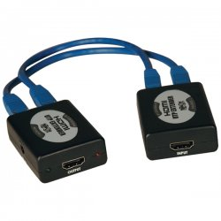 Tripp Lite - B125-150 - Tripp Lite HDMI Over Dual Cat5/Cat6 Audio Video Extender Kit 1920x1200 150'