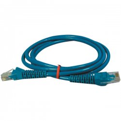 Tripp Lite - N001-005-BL - 5ft Cat5 Cat5e Blue Patch Cable Snagless Molded M/m Rj45 350mhz