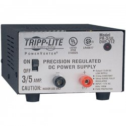 Tripp Lite - PR3UL - Tripp Lite DC Power Supply 3A 120VAC to 13.8VDC AC to DC Conversion UL Certified