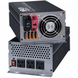 Tripp Lite - PV1000HF - Tripp Lite Compact Inverter 1000W 12V DC to 120V AC 4 Outlets 5-15R - 12V DC - 120V AC - Continuous Power:1000W