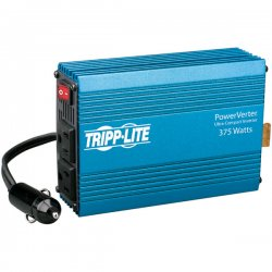Tripp Lite - PV375 - Tripp Lite Compact Car Portable Inverter 375W 12V DC to 120V AC 2 Outlets - 12V DC - 120V AC - Continuous Power:375W