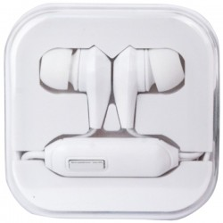 Travelocity - TVOR-STHF-BW - travelocity(R) TVOR-STHF-BW Stereo Earbuds with Microphone