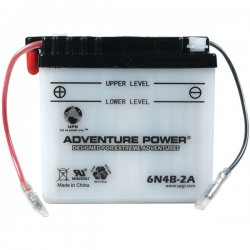 Upgi - 41513 - UPG 41513 6N4B-2A, Conventional Power Sports Battery