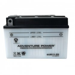 Upgi - 41531 - UPG 41531 6UB11-2D, Conventional Power Sports Battery