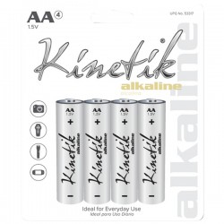 Kinetik HC Power Cells - 53317 - Kinetik(R) 53317 Alkaline Batteries (AA, Carded, 4 pk)