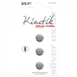 Kinetik HC Power Cells - 53791 - Kinetik(R) 53791 Watch Batteries (357, 3 pk)