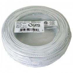 Upgi - 77025 - UPG(TM) 77025 22-Gauge, 4-Conductor Alarm White Cable, 500ft Coil Pack (Solid)