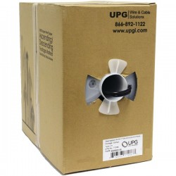 Upgi - 77286 - UPG(TM) 77286 CCTV Siamese RG59 Cables & 2-Conductor Copper-Covered Aluminum Power Cables, 500ft