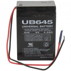 Upgi - 85929 - UPG 85929 UB645WL Sealed Lead Acid Battery