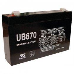 Upgi - 85932 - UPG 85932 UB670, Sealed Lead Acid Battery