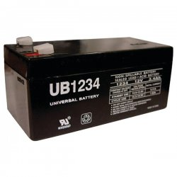 Upgi - 85943 - UPG 85943 UB1234, Sealed Lead Acid Battery
