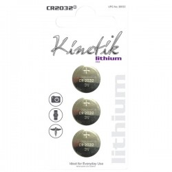Kinetik HC Power Cells - 88134 - Kinetik(R) 88134 Lithium Batteries (CR2032, 3 pk)