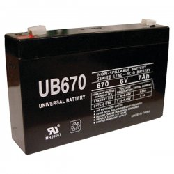 Upgi - D5734 - UPG D5734 UB670, Sealed Lead Acid Battery Case, 10 pk