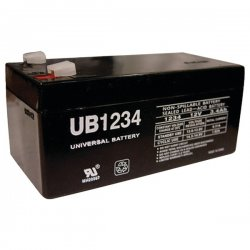 Upgi - D5740 - UPG D5740 UB1234, Sealed Lead Acid Battery Case, 10 pk