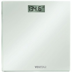 Vivitar (Sakar) - PS-V134-W - VIVITAR PS-V134-W Digital Bathroom Scale (White)