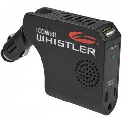 Whistler - XP100I - Whistler Power Inverter - Input Voltage: 12 V DC - Output Voltage: 5 V DC - Continuous Power: 100 W