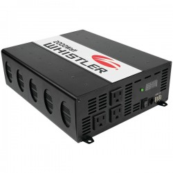 Whistler - XP2000I - Whistler Power Inverter - Output Voltage: 5 V DC - Continuous Power: 2000 W
