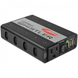 Whistler - XP200I - Whistler Power Inverter - Input Voltage: 12 V DC - Output Voltage: 5 V DC - Continuous Power: 200 W