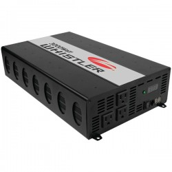 Whistler - XP3000I - Whistler Power Inverter - Output Voltage: 5 V DC - Continuous Power: 3000 W