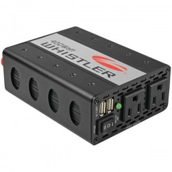 Whistler - XP400I - Whistler Power Inverter - Input Voltage: 12 V DC - Output Voltage: 5 V DC - Continuous Power: 400 W