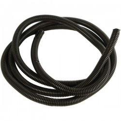 American Terminal - 27100 - Amercian Terminal Supply 27100 Black Split-Loom Cable Tubing, 100ft (1)