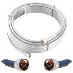 weBoost - 952400 - 100 Ft. White Wilson 400 Cable
