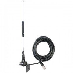 Tram - 1091-BNC - Tram(R) 1091-BNC Scanner Trunk/Hole Mount Antenna Kit with BNC-Male Connector