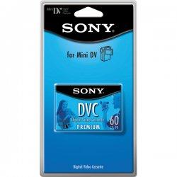 Sony - DVM60PRR - Sony DVM60PRR MiniDV Cassette - MiniDV - 60 Minute - SP, 90 Minute - LP