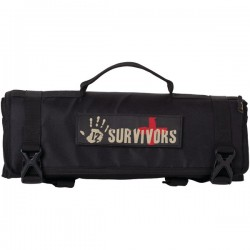 12 Survivors - TS42000B - 12 Survivors TS42000B First Aid Rollup Kit