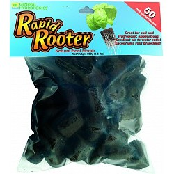 General Hydroponics - GH3253 - GH Rapid Rooter Replacement Plugs, 50 count