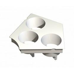 General Hydroponics - GH6710 - GH RainForest Modular 318 Lid Insert Kit