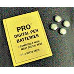 Hydrofarm - HGPROBAT - Batteries for PRO pH/TDS pen or Thirsty Light, 1.4V (pack of