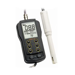 Hanna Instruments - HI9813-6N - GroChek pH/EC/TDS/C Portable Meter w/Cal C