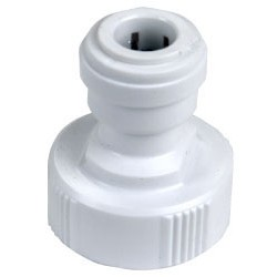 Hydrologic Purification Systems - HL38QCHOSE - Quick Disconnect, 3/8' x Garden Hose Adapter