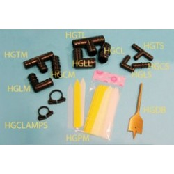 Hydrofarm - IGCLAMPS - 1/2' Hose Quick Clamps, pack of 10